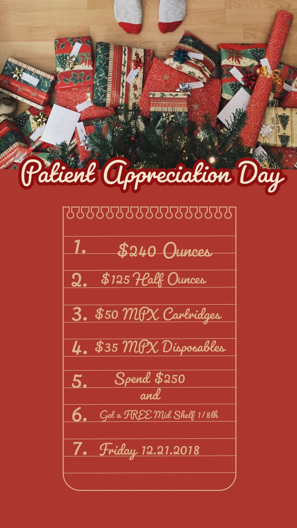 patient appreciation day at Health For Life Maryland dispensaries