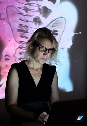 Gail Priest    Gail Priest  is a Sydney-based sound artist. Her work comprises solo electro-acoustic performance and recordings, sound installations for gallery contexts, sound design for performance and video, as well as curation, critique and advocacy.