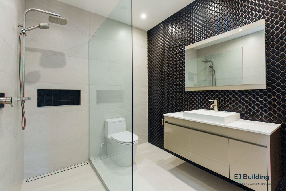 E J Building best bathroom renovators Auckland
