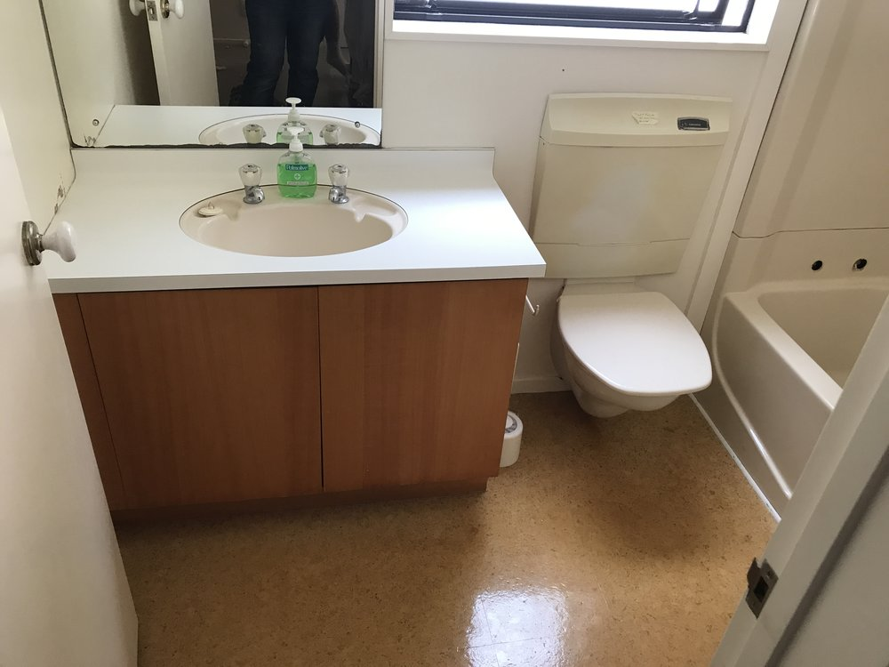 Bathroom ensuite renovation before and after photos for design ideas, from and Auckland based bathroom renovation company.