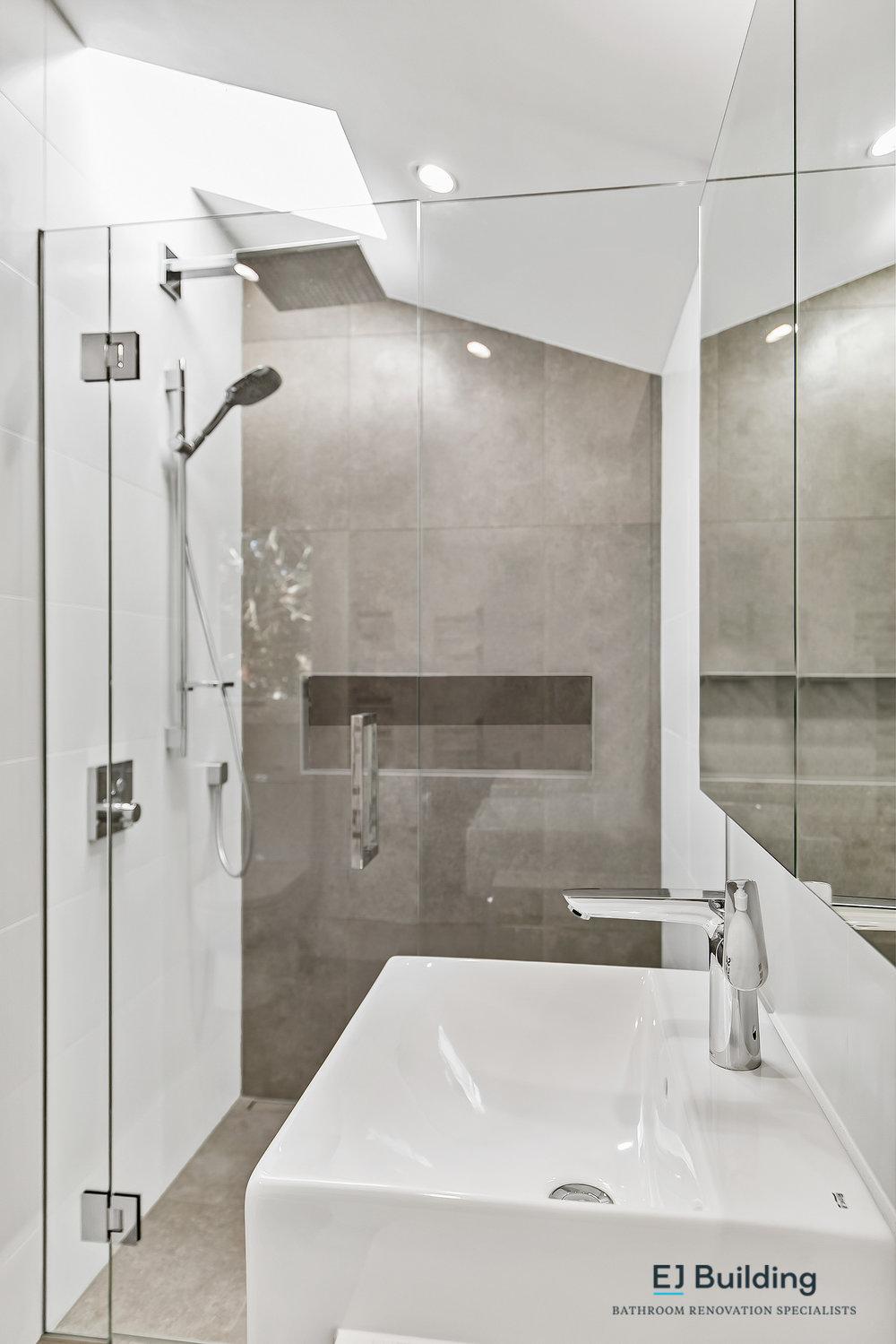 Ellerslie bathroom renovator Auckland. Shower with good diamond fusion reviews . Bathroom Renovation by E J Building Bathroom renovators In Auckland.