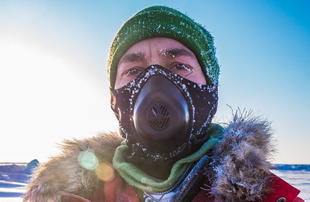 Self Portrait from the 2013 City Endeavour Expedition to the Geographic North Pole, Clarice.