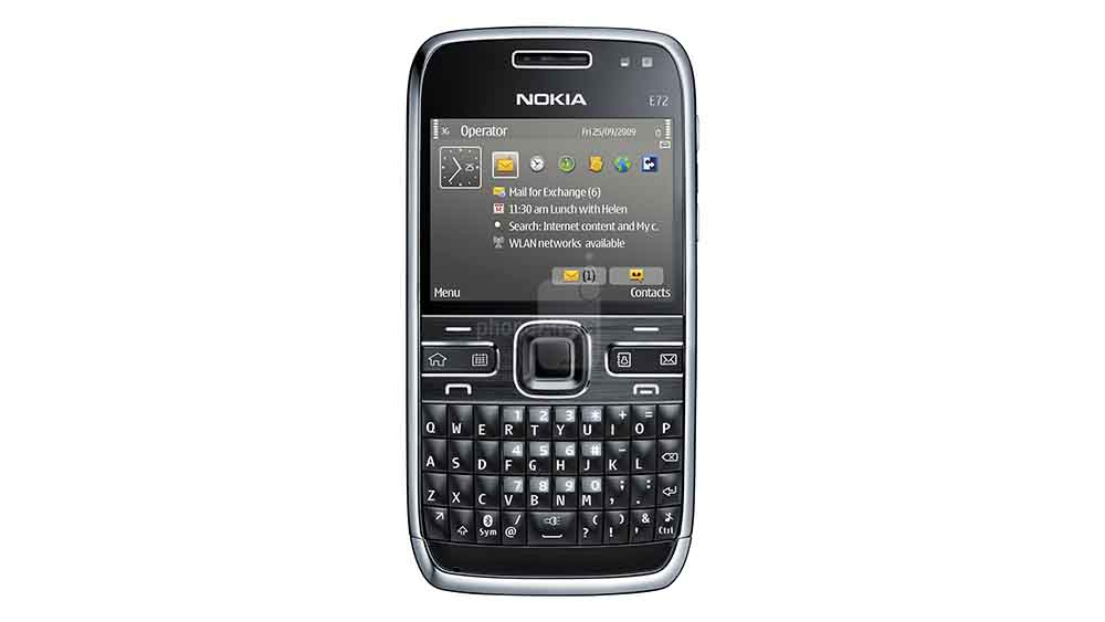 Nokia E72. The best battery on any Nokia.