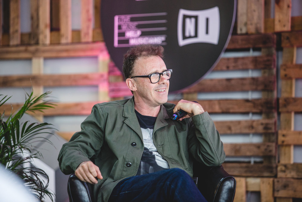 The closing keynote talk with Neil Barnes of Leftfield