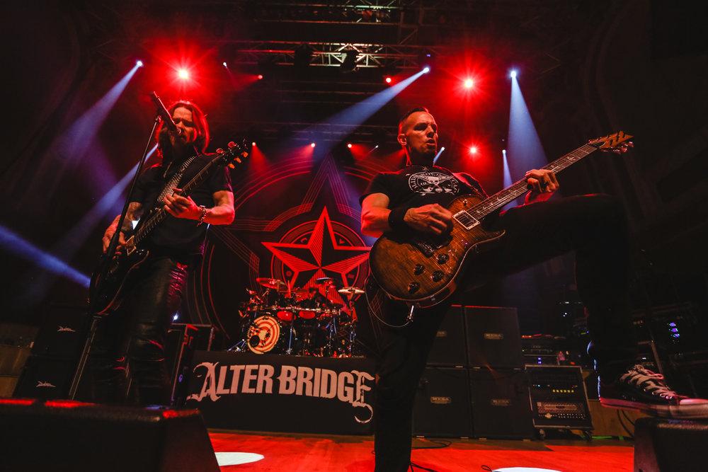 Myles Kennedy & Mark Tremonti of Alter Bridge