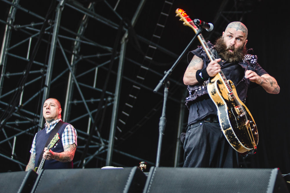 Lars Frederiksen & Tim Armstrong of Rancid