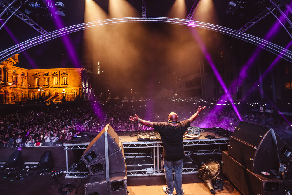 Carl Cox still selling out festivals after 20 years