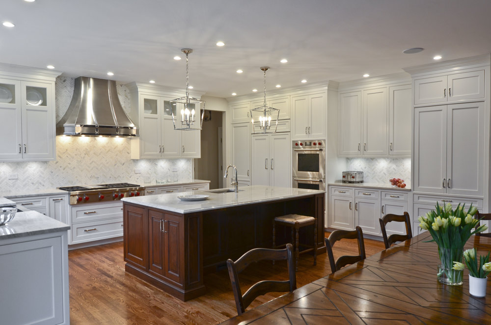 Wood-Mode custom kitchen designed by Kathy M. Gray — Loudon County, Virginia