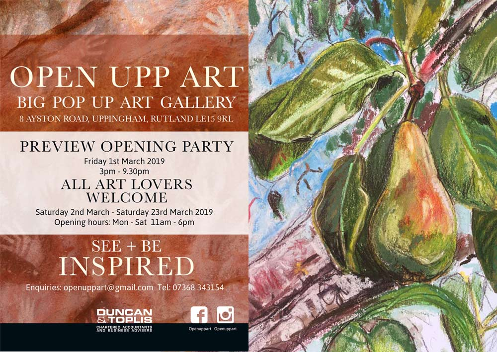 Save The Date For Open Upp Art In Uppingham
