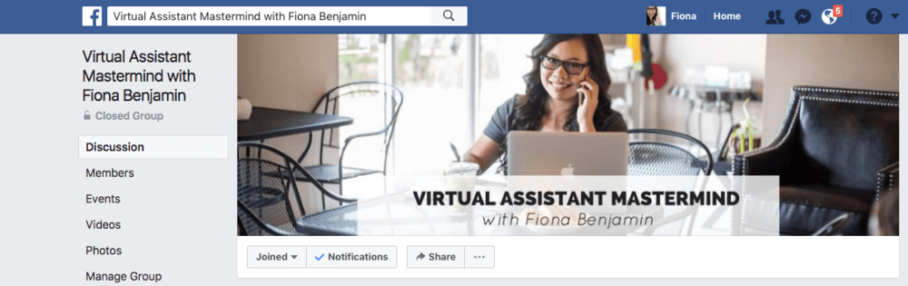 Virtual Assistant Mastermind Facebook Group