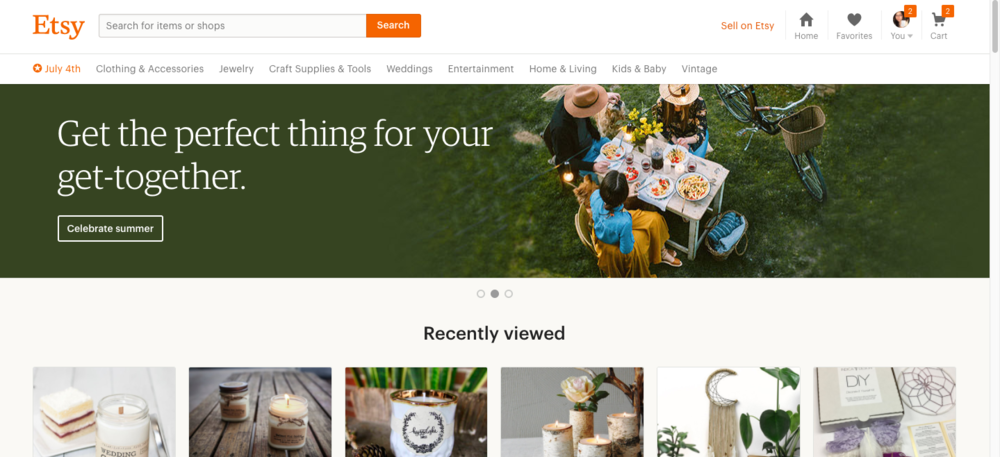I became an Etsy affiliate through Awin.