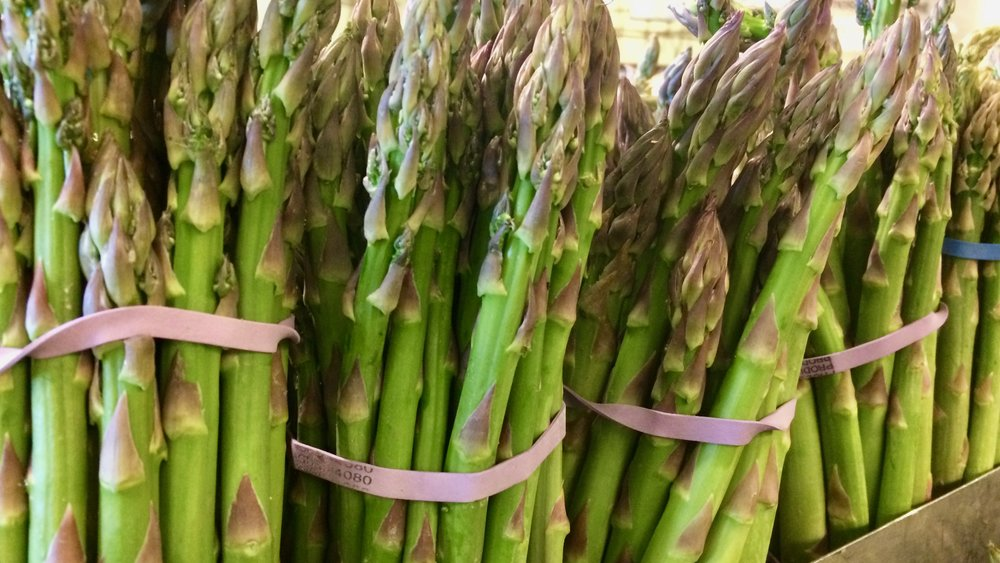 asparagus is another great prebiotic