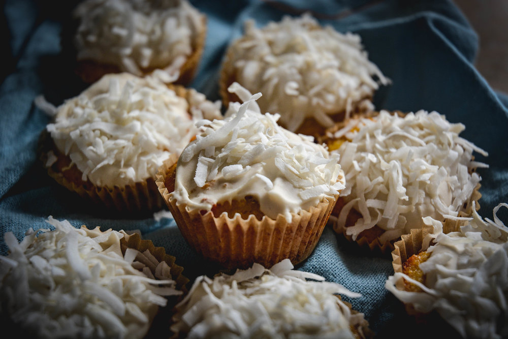 paleo coconut cupcakes