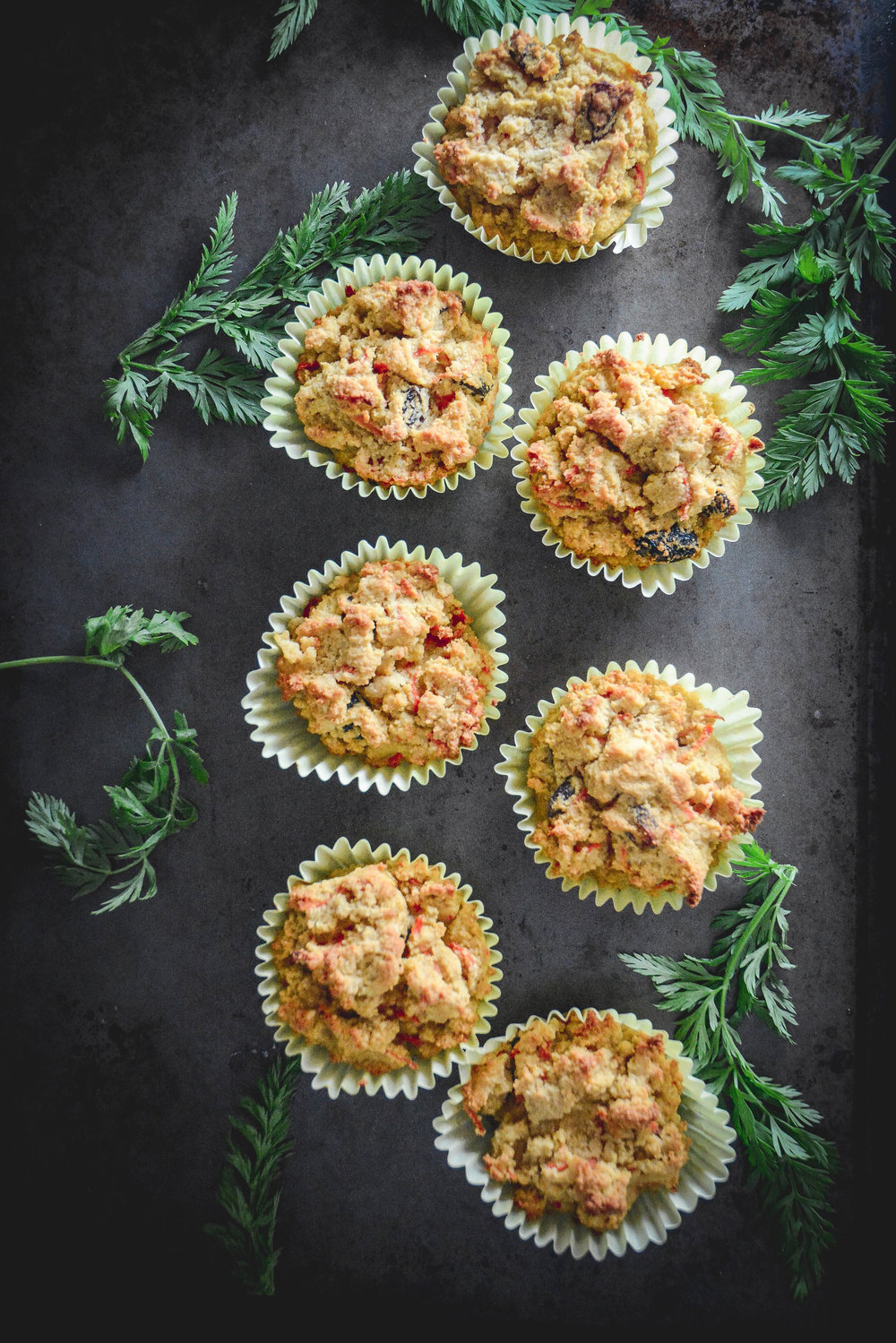 paleo cardamom carrot muffins