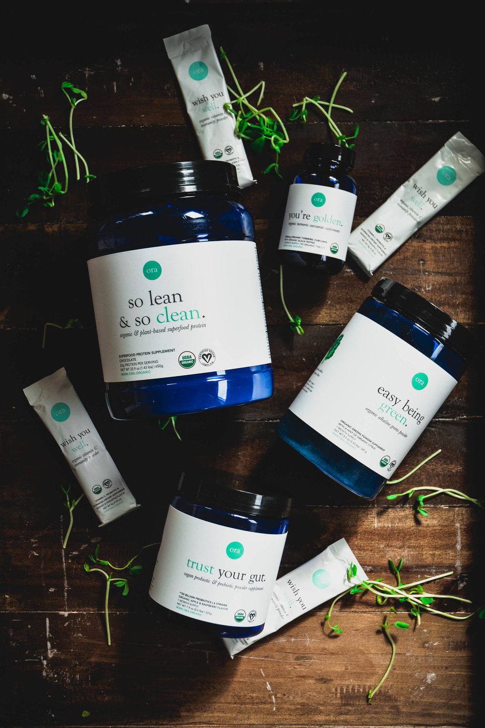 Supplements - For the times when we can't get everything from our food, in come these amazing, organic, vegan no additive supplements from Ora Organic. Check them out here!