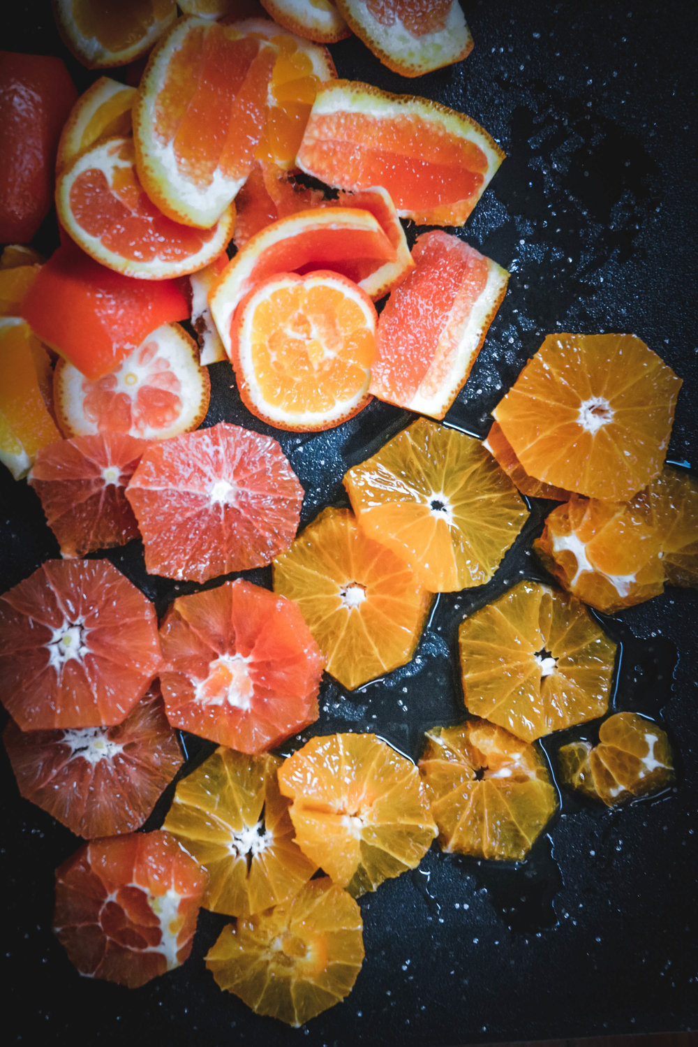 cut up citrus