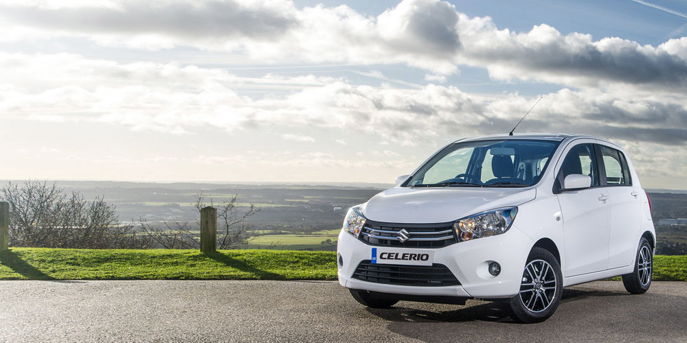 <em>SMALL CAR. BIG DEAL.</em><br />SUZUKI CELERIO