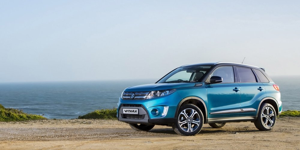 <em>MEET THE NEW</em><br />SUZUKI VITARA