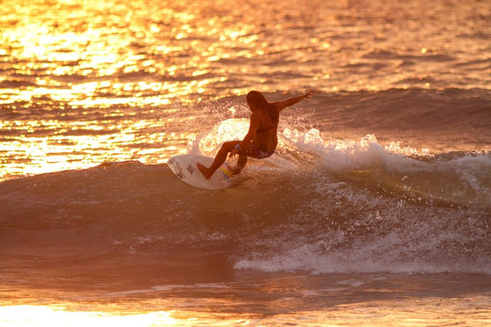 Sunset sesh. Photo by Allen Aligam.
