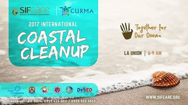 Sea you tomorrow for the #InternationalCoastalCleanup here in San Juan, La Union!  6 a.m. - 9 a.m. Beach Break to Awesome Hotel  @projectcurma  @sifcare  #launionsoul #coastalcleanup #beachcleanup