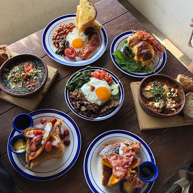 Freshly cooked breakfast and treats at a new found secret spot! #reallygoodfood #launion