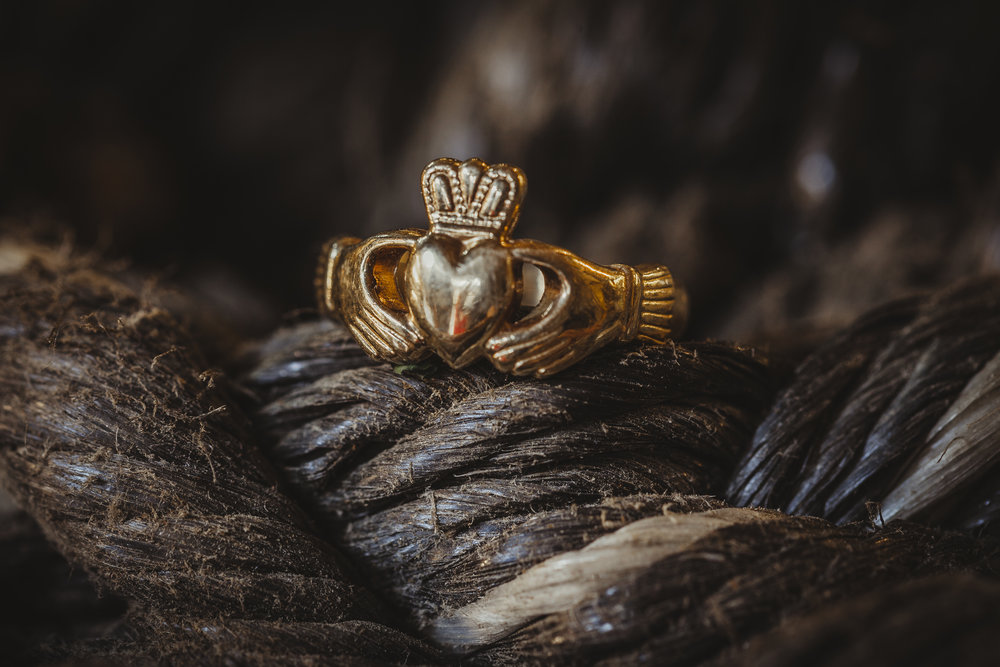 The Meaning of the Claddagh Ring: Love, Friendship, Loyalty.