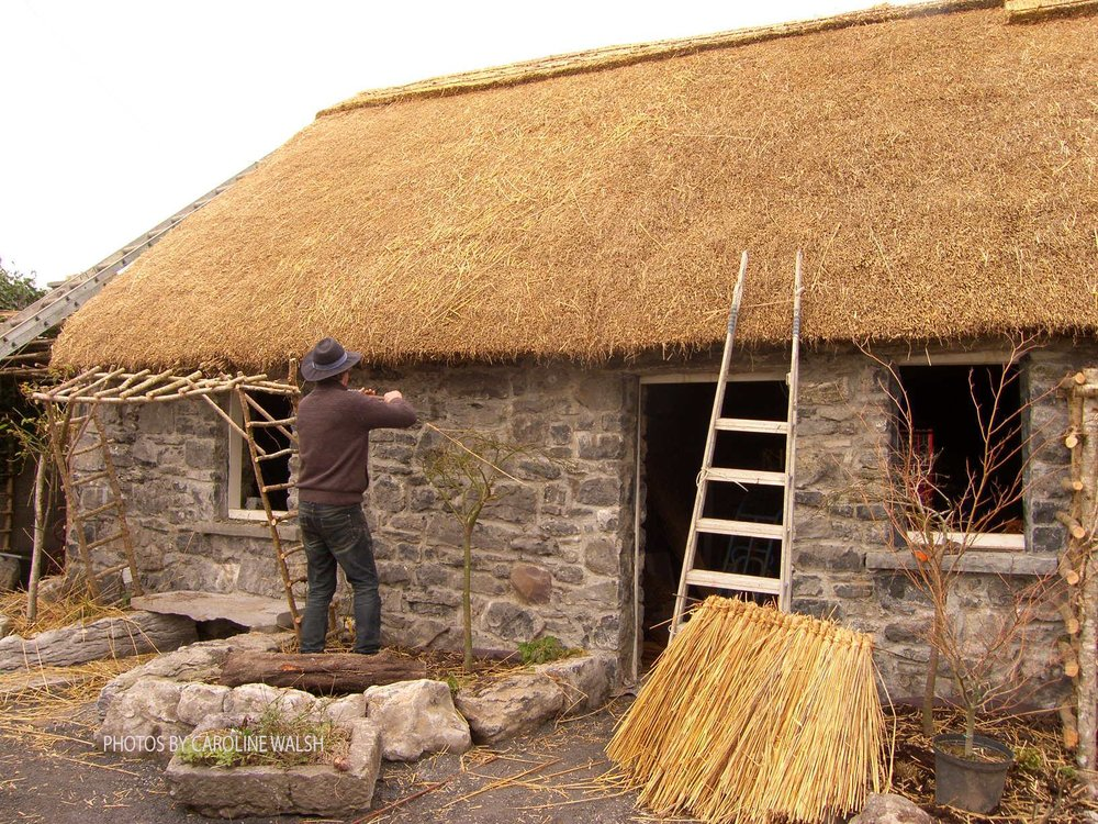 The Building of Katie's Claddagh Cottage