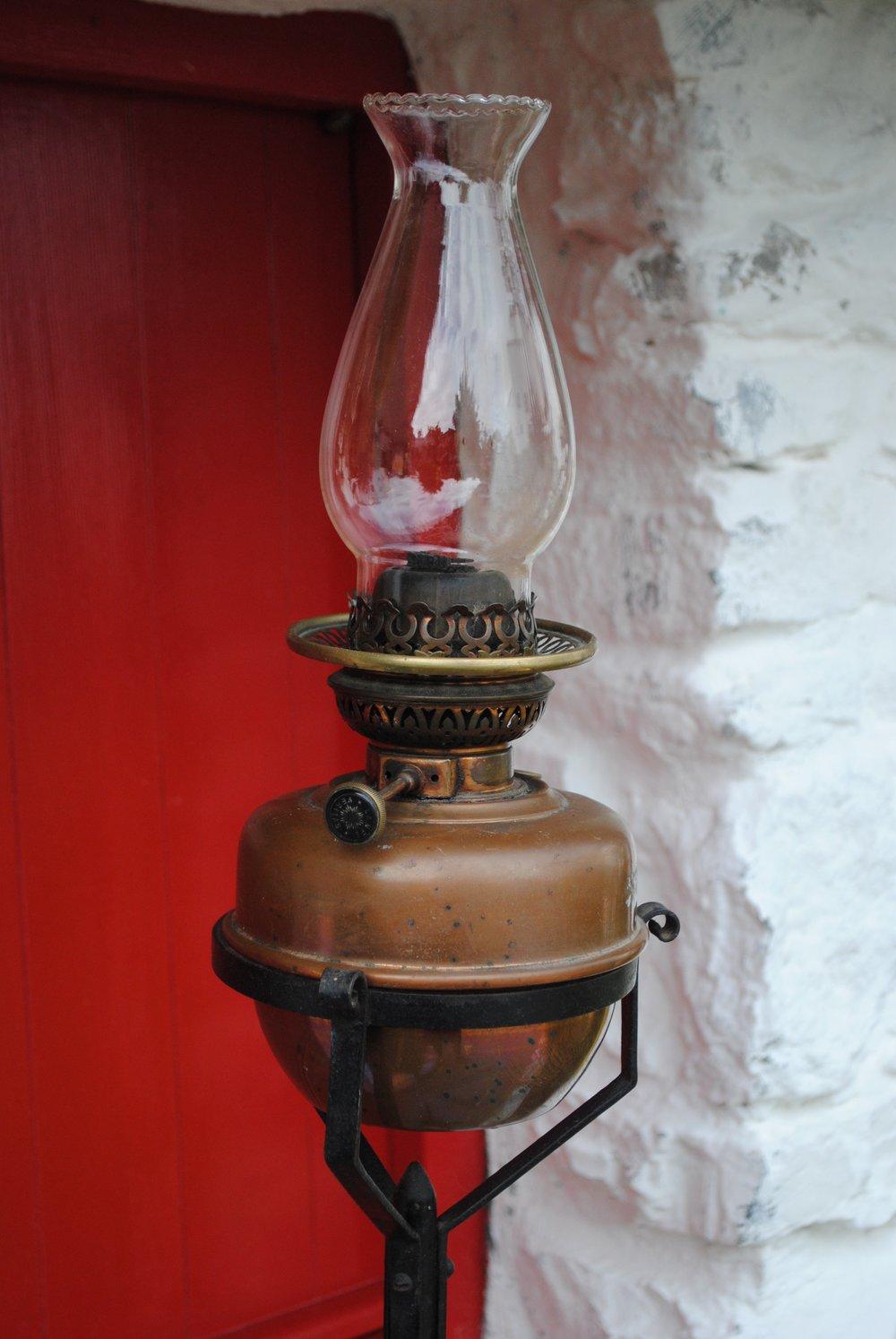 Antique Oil Lamp. - €85