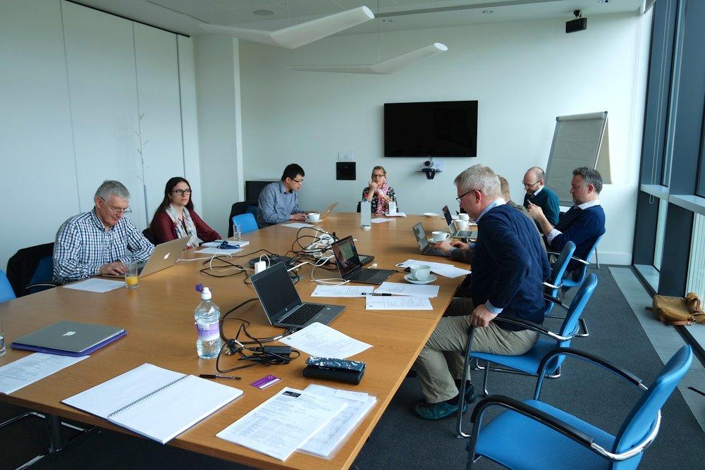 1st consortium building meeting 30 March 2017.