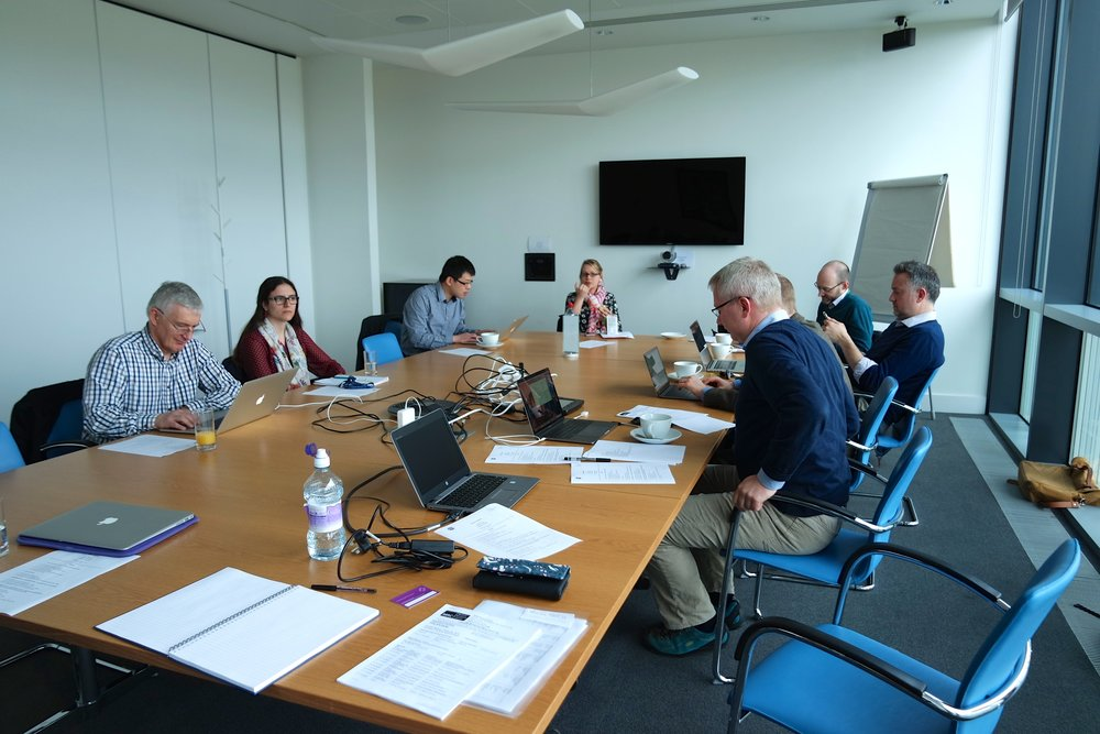 First consortium building meeting 30 March 2017.