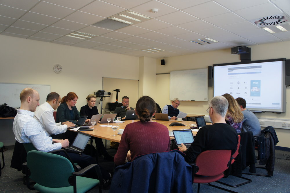 Second preliminary data meeting 3 May 2017.