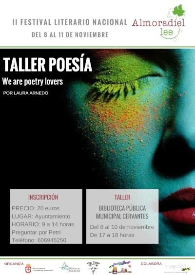 Taller de poesía, Almoradiel Lee