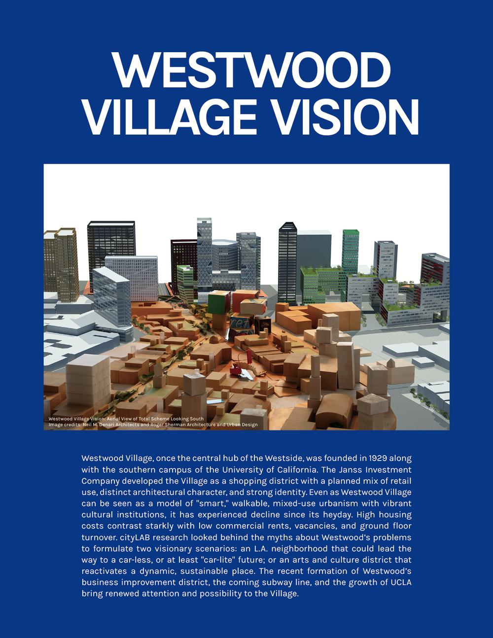 Place:  Westwood Village Vision
