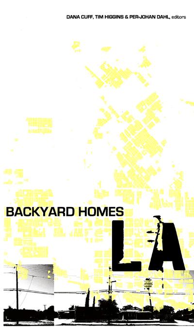 Report: Backyard Homes  Cuff, Dahl