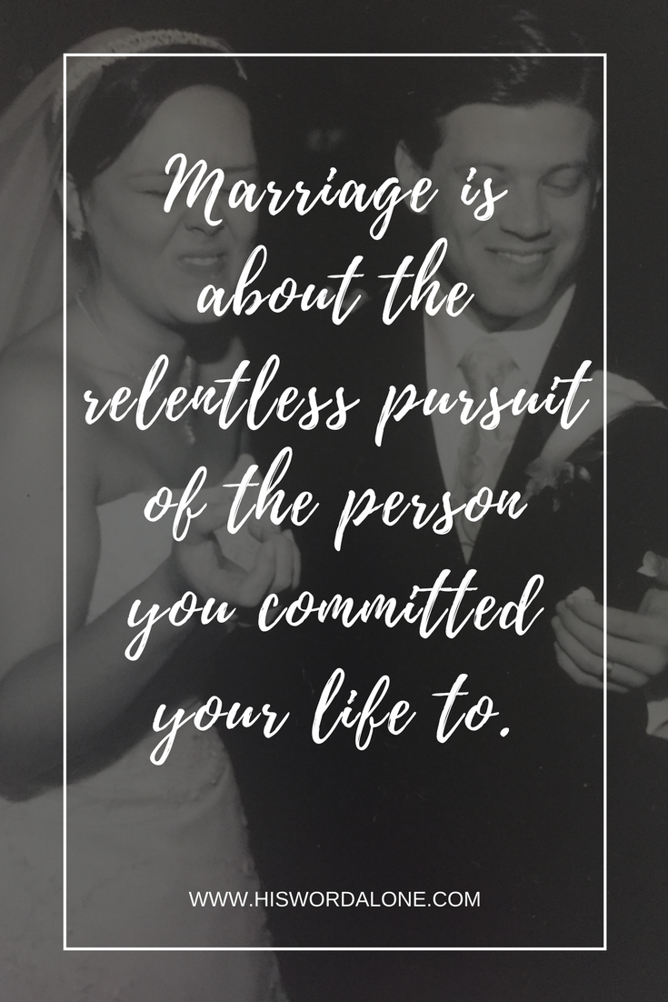The one word that should define your marriage...