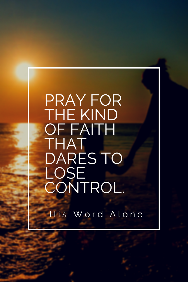 Do we fight God for control over our children?