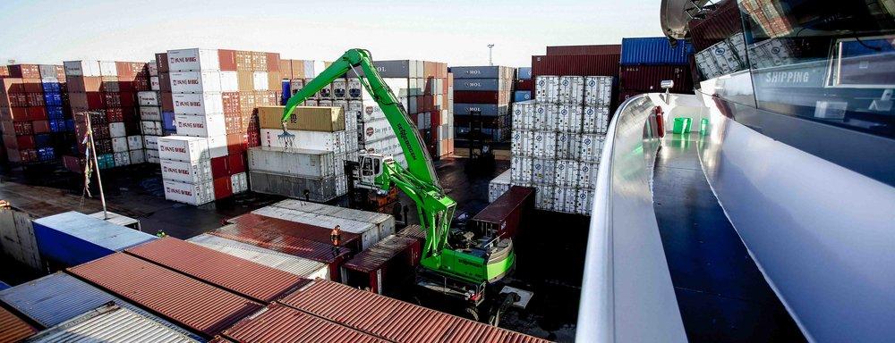 Kranen - 24u ondersteuning binnen de haven van Antwerpen
