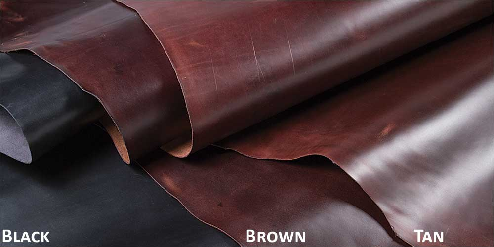 Leather Option 3: Granger Excel side. This is very high quality leather, probably my favorite for this particular project