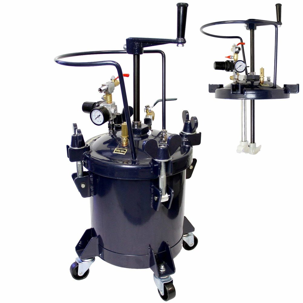 TCP Global Pressure pot