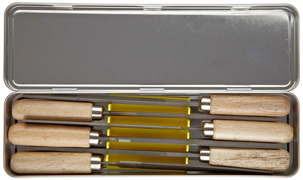 Pferd 6 piece file set