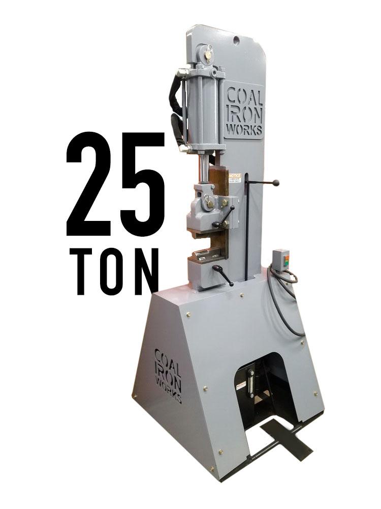 Coal Iron Works 25 Ton Press