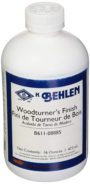 Behlen Woodturners Finish
