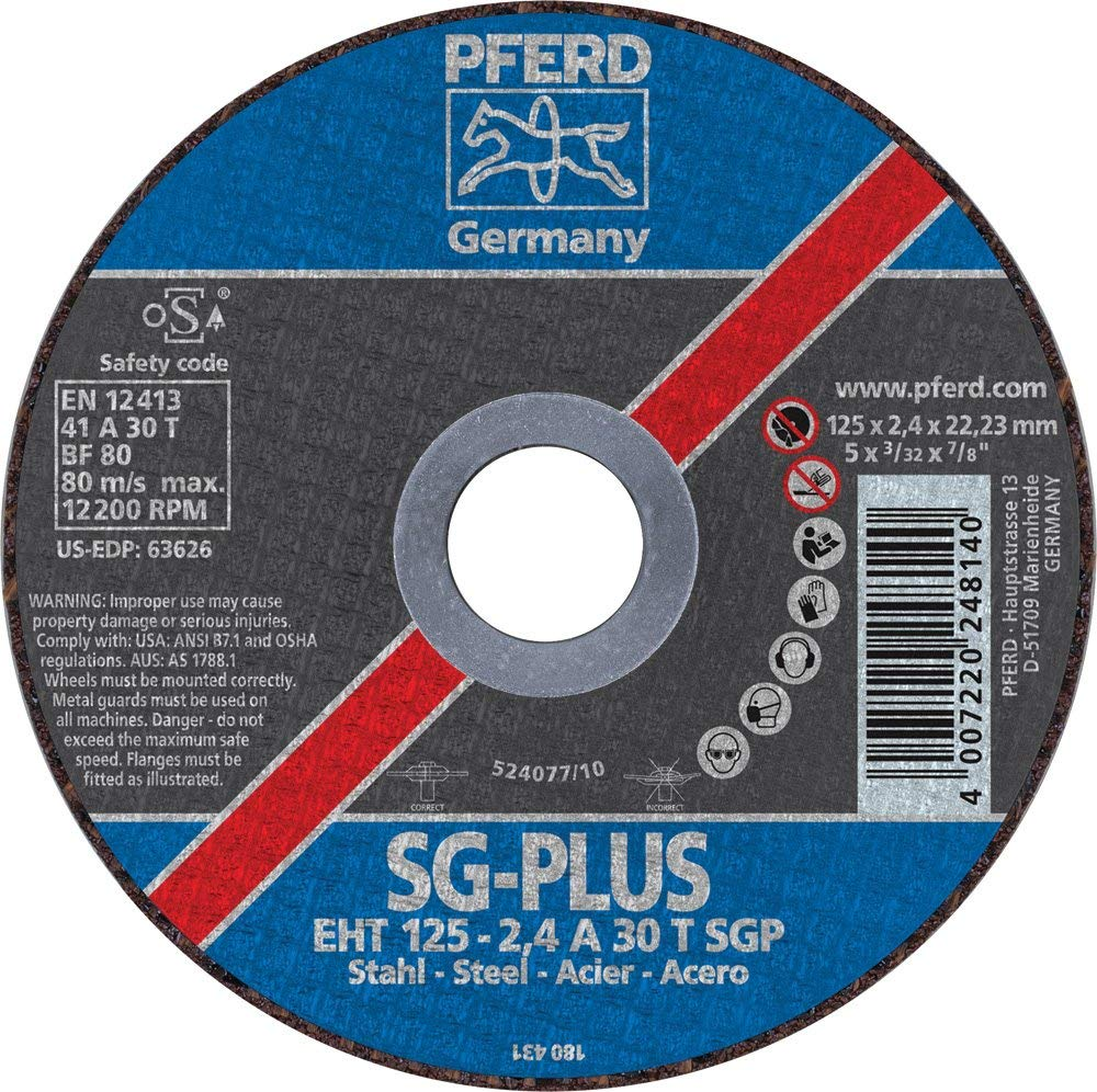 Pferd SG-PLUS cutoff disc