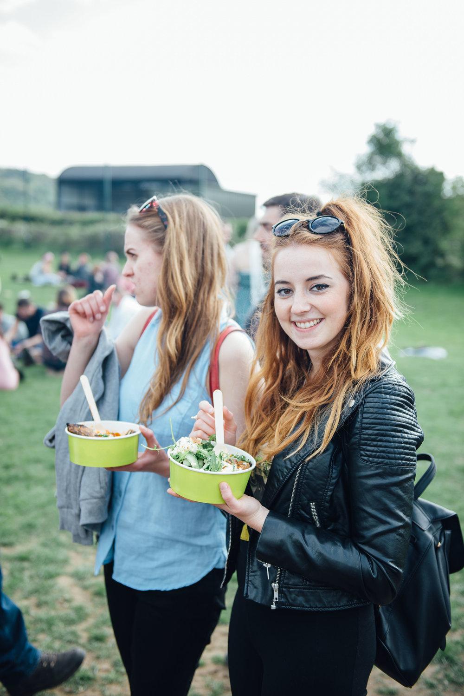 Festival Goers at Swanbourne Music Festival