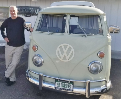 Yours truly with my new ride dub'd - Spicoli.
