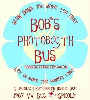 Bob's Photobooth Bus Logo