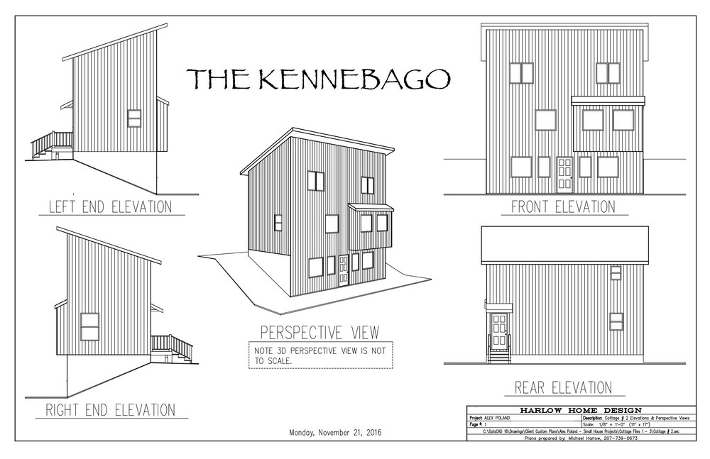 THE KENNEBAGO - A refreshing shed design that maximizes space to entertain