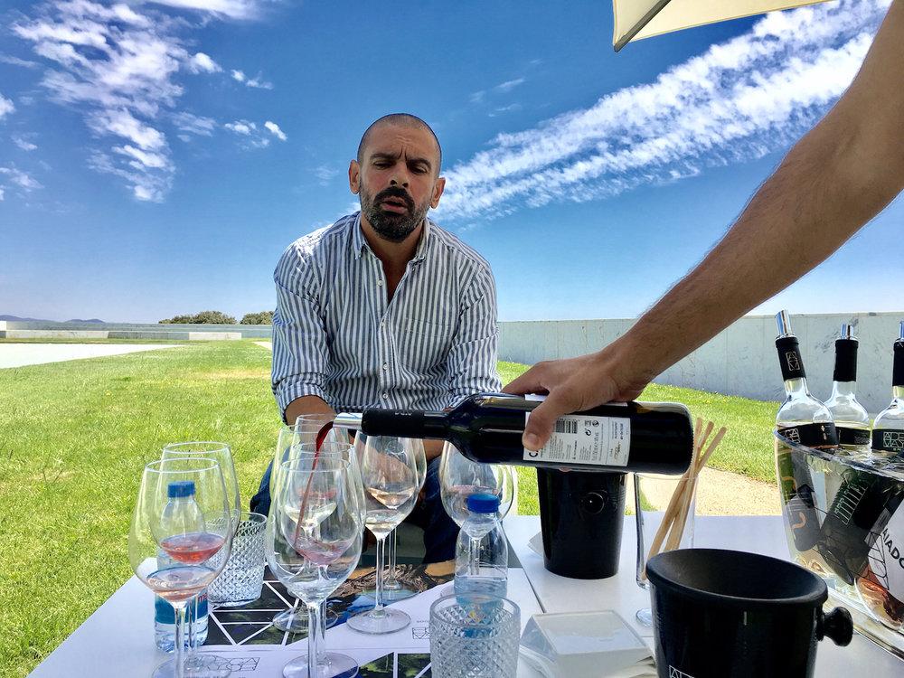 Weinverkostung Adega Mayor Alentejo