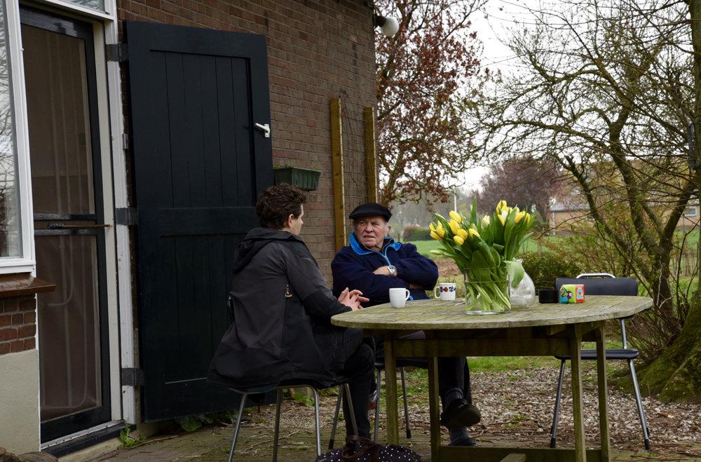 Geert mit Sander's Vater Hein
