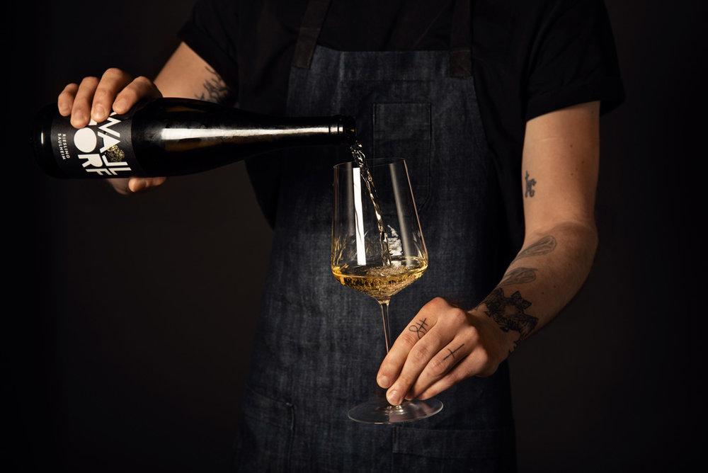 Ortswein Riesling aus Saulheim von Max Dexheimer Weingut Walldorf